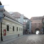 2006 - Wozownia budynek z banerami i plakatem