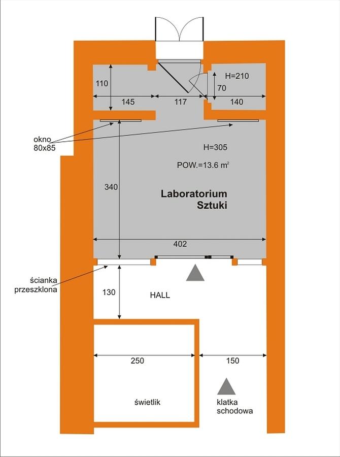 Wozownia - sala laboratorium sztuki