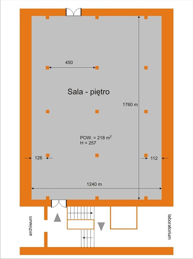 Wozownia - sala na pietrze 1