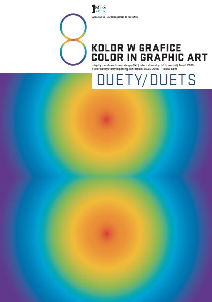 plakat 8 MTG kolor w grafice