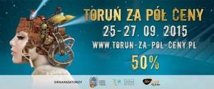 Toruń za pół ceny - jesień 2015