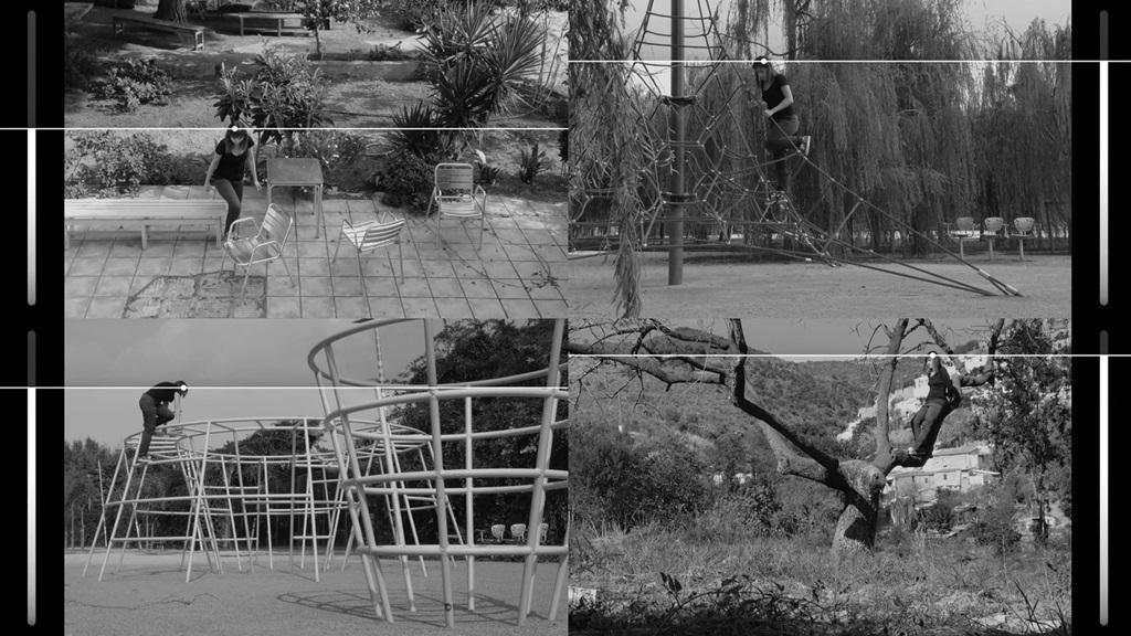 Jacek Doroszenko, Ewa Doroszenko, The same horizon repeated at every moment of the walk, kadr wideo, 2014 (2)